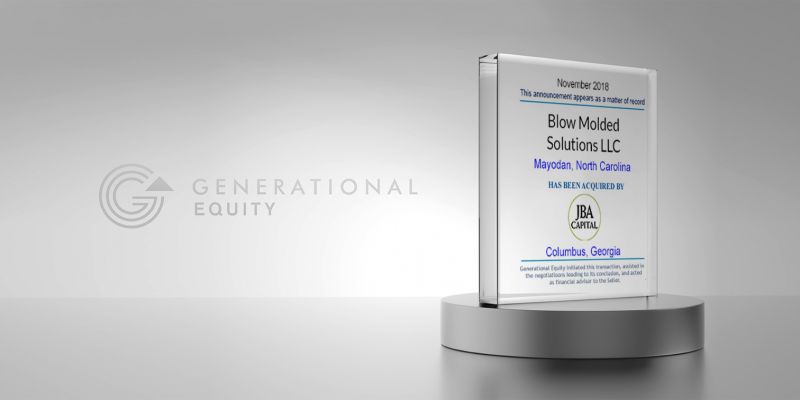 Blow Molded Solutions