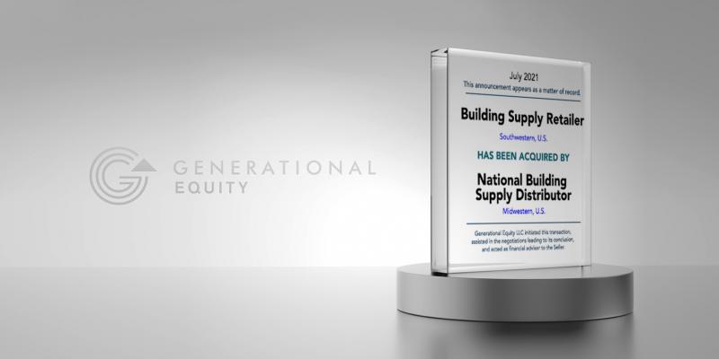 Building Supply Retailer