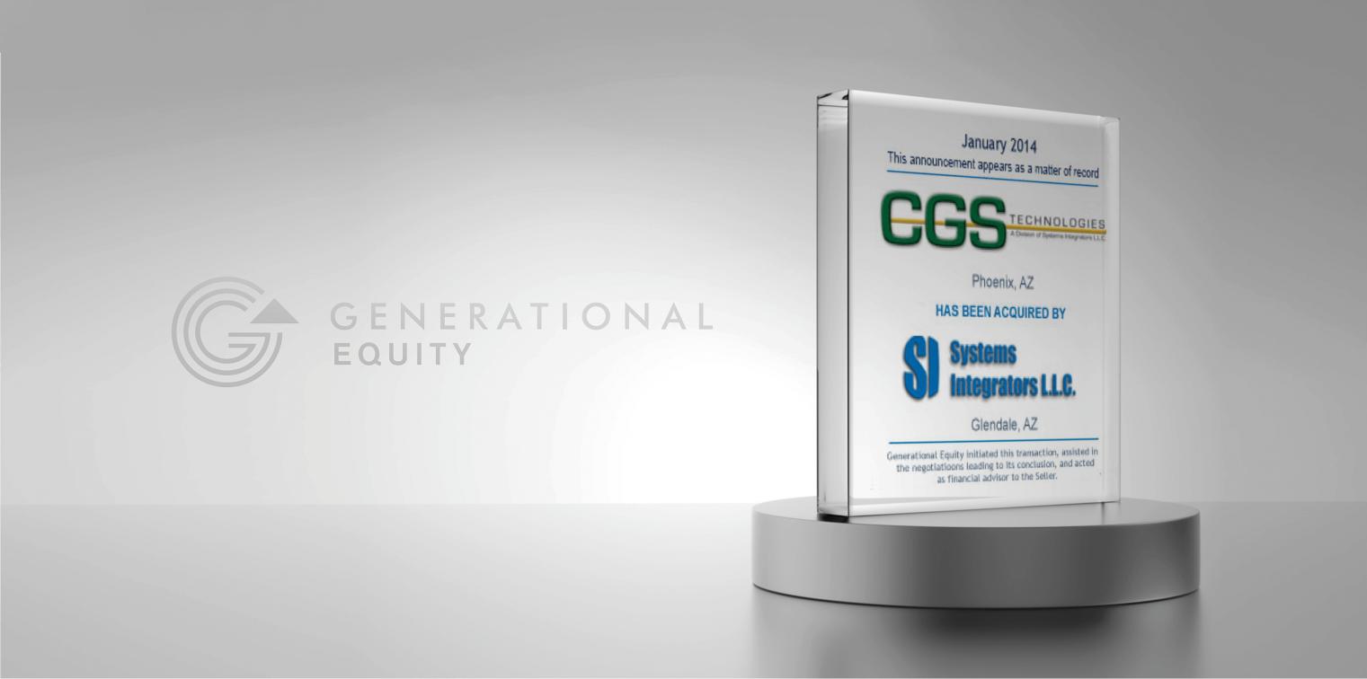 CGS Technologies