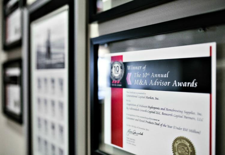 GE M&A Advisor Award