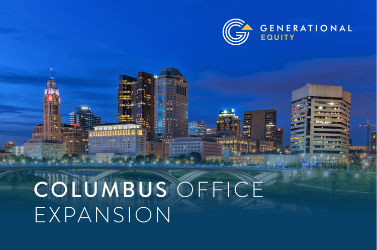 Generational Equity Columbus Ohio Office